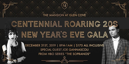 The Mansion at Glen Cove Centennial Roaring 20S New Year's Eve