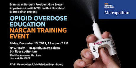 Opioid Overdose Education/Narcan Training Event tickets
