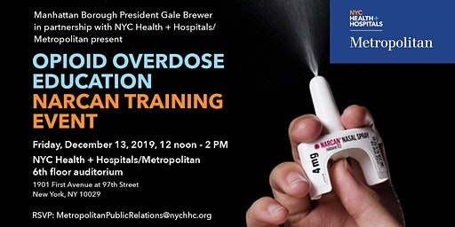 Opioid Overdose Education/Narcan Training Event