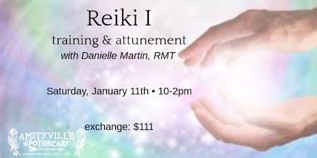 Reiki I training and attunement tickets