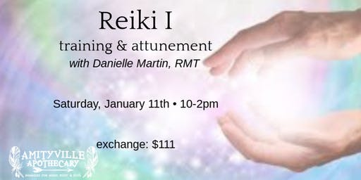 Reiki I training and attunement