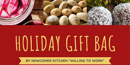 Newcomer Kitchen Holiday Gift Bag at The Theatre Centre Cafe/ Bar