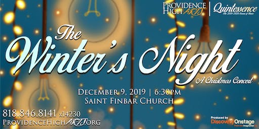 The Winter's Night: A Providence High Arts Christmas Concert
