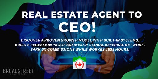 AGENT to CEO   Real Estate Growth Planning   5X Your 2020 Commissions!