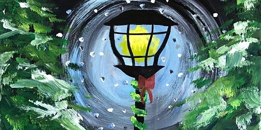 Get in the Holiday spirit with this Paint Night 'Guiding Light'