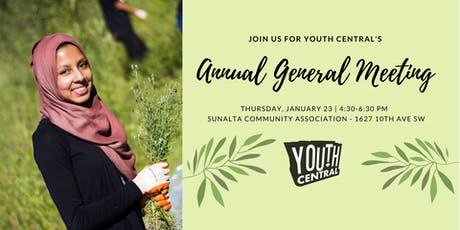 Youth Central's 2020 Annual General Meeting  tickets