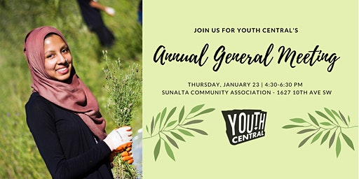 Youth Central's 2020 Annual General Meeting