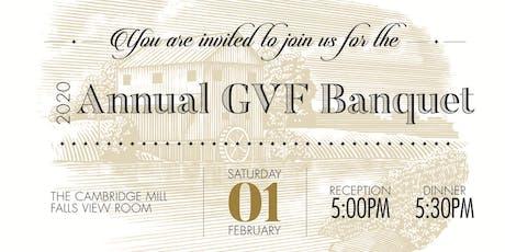 Annual GVF Banquet 2020 tickets