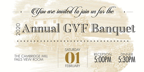 Annual GVF Banquet 2020 tickets