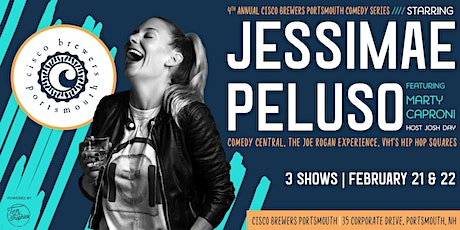 Jessimae Peluso: Cisco Brewers Portsmouth Comedy Series tickets