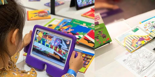 BOOK+APP workshop for children using Augmented Reality
