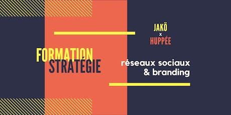 Formation médias sociaux & branding billets