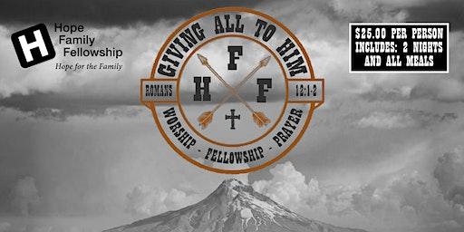 Hope Family Fellowship Men's Retreat 2020