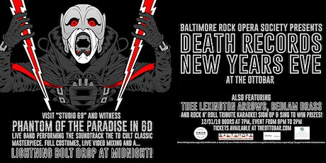 Death Records New Years Eve tickets
