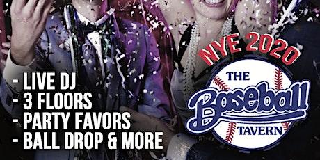 Baseball Tavern New Years Eve 2020 - Fenway tickets