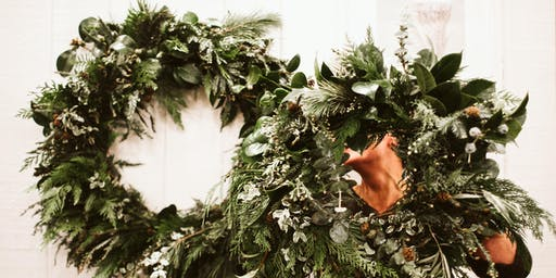 Holiday Wreath Workshop at Fox and Faun Bakehouse