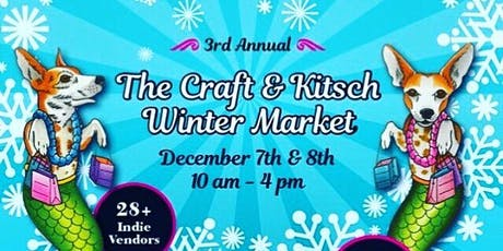 The Craft and Kitsch Winter Market tickets