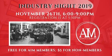 AIM Industry Night 2019 tickets