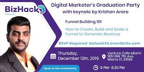 Digital Marketer's Graduation Party with Krishan Arora and Alex de Carvalho tickets