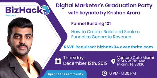 Digital Marketer's Graduation Party with Krishan Arora and Alex de Carvalho
