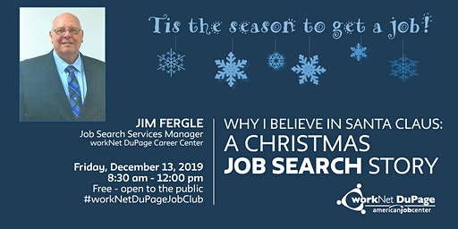 Why I Believe in Santa Claus: A Christmas Job Search Story