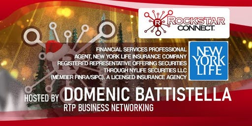 Free RTP Business Rockstar Connect Networking Event (December, RTP)