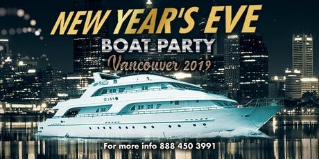 New Year's Eve Boat Party Vancouver 2020 tickets