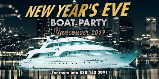 New Year's Eve Boat Party Vancouver 2020