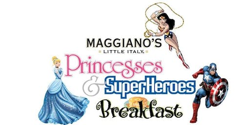 Maggiano's Little Italy- Princesses & Superhero New Years Celebration