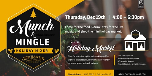 Munch&Mingle Holiday Mixer