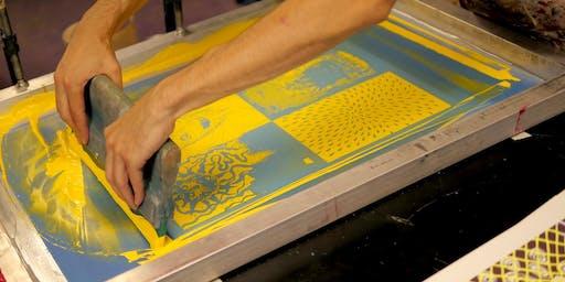 RAC | SÉRIGRAPHIE Reconnaissance des acquis + Présentation de l'atelier