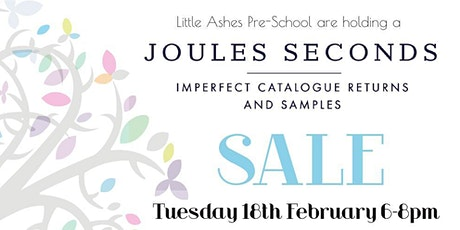 Joules Seconds Sale, Great Brickhill, nr Milton Keynes, 6-8pm, 18 Feb 2020 tickets