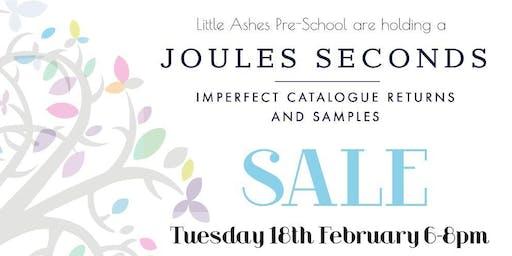 Joules Seconds Sale, Great Brickhill, nr Milton Keynes, 6-8pm, 18 Feb 2020