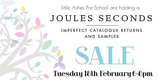 Joules Seconds Sale, Great Brickhill, nr Milton Keynes, 6-8pm, 18 Feb 2020