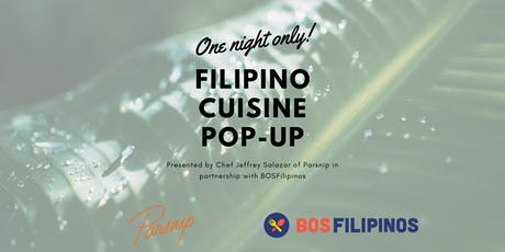 One Night Only: Filipino Cuisine Pop-Up tickets