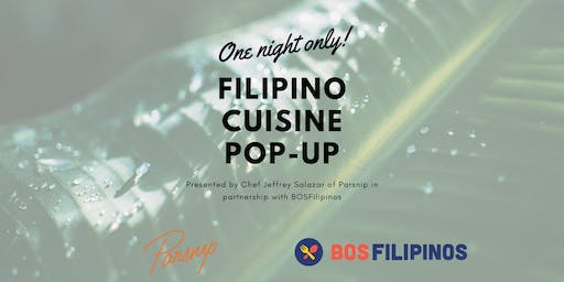 One Night Only: Filipino Cuisine Pop-Up