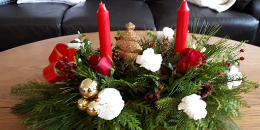 DIY CHRISTMAS CENTREPIECE WORKSHOP
