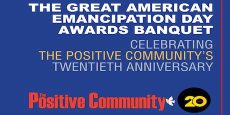 The Positive Community 20th Anniversary tickets