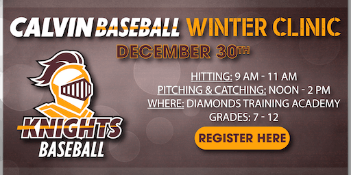 Calvin University Baseball Winter Clinic
