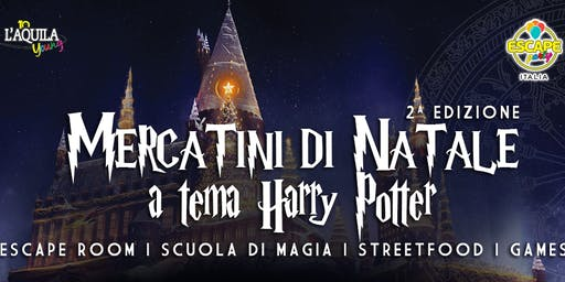 Gita ai Mercatini di Natale a Tema Harry Potter
