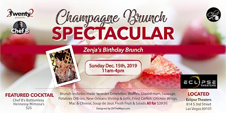 2Twenty2 presents Chef B.'s Brunch Spectacular Chapter 7 tickets