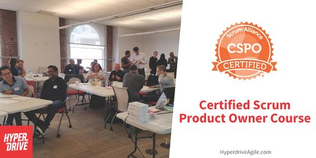 Certified Scrum Product Owner Course (CSPO) - San Francisco, CA tickets