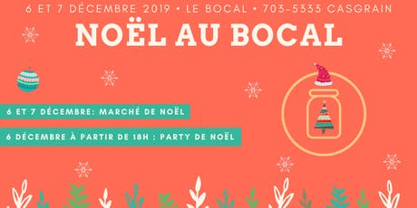 Noël au Bocal billets