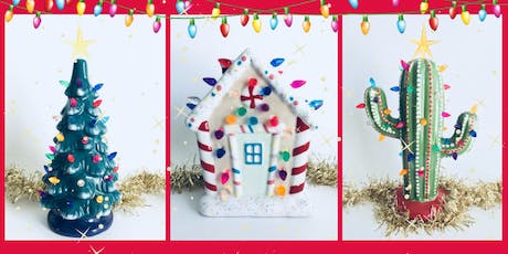 Light up Christmas Pottery Painting at Grandma's House Brewery tickets