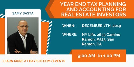 Year-End Tax Planning and Accounting for Real Estate Investors tickets