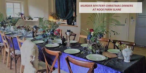 Murder Mystery Christmas Dinners at Rock Farm Slane