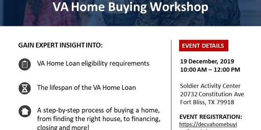 VA Home Buying Workshop