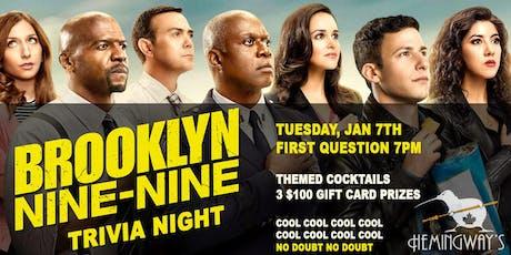 Brooklyn Nine-Nine Trivia 3.1 tickets