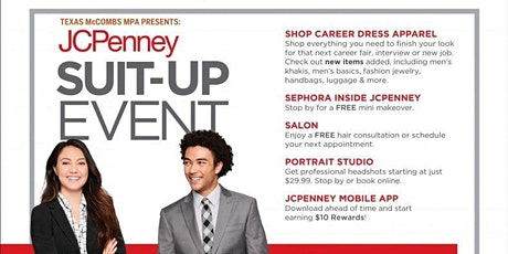 Texas McCombs MPA Presents: JCPenney Suit Up Event! tickets