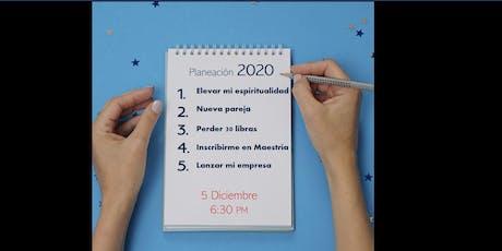 TALLER DE PLANEACION 2020 entradas